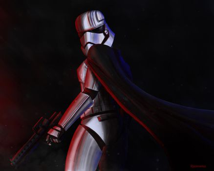 Captain Phasma from Star Wars Force Awakens by Jason-Venus