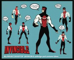 Invincible redesign ideas by tryin2get-there