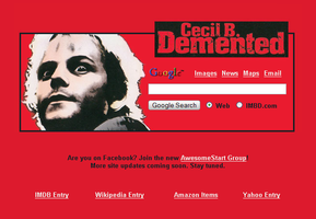 Cecil B. Demented Startpage by AwesomeStart