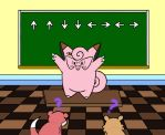 Clefairy Teaches in color by sunnyfish