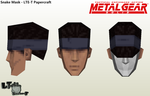 Solid Snake Mask - LTE-T Papercraft (Reupload) by LTE-T