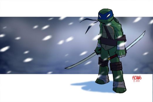 TMNT:Leo by Michael-Chang