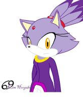 Blaze the Cat by killer-kimmie