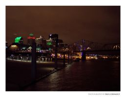 Riverfront in Louisville KY by redapex