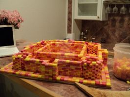 WIP of the Starburst Castle by ashleyisthebomb