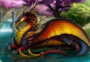 Joseon Dragon by magmi