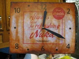 new nuka cola clock painting technique by emptysamurai