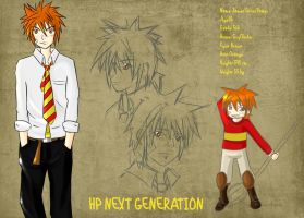 James Sirius Potter 2nd Gen. by Silvaras