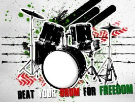 Beat your drums 4 freedom by PaLiLinz