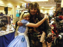 alice and jack sparrow FTW by daisydaisydoom