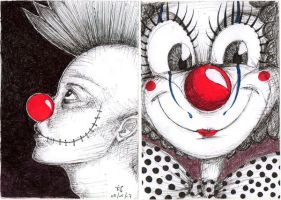 Clowns by death-dodger