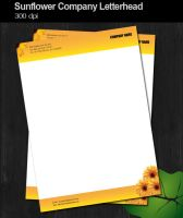 Sunflower Company Letterhead by dimplegal