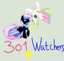 301 Watchers!! a drawing special for the YAOI fans by tiffanykip
