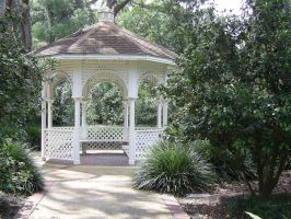 Gazebo Exterior Stock by chamberstock