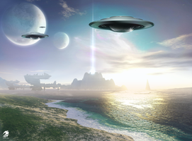 UFO A Strange New World 2010 by RLPT07IDN