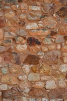 Ochre and stones wall 2 by A1Z2E3R