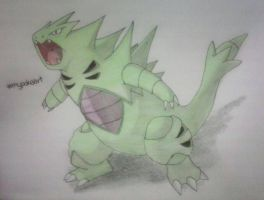 how many faves for Tyranitar? by mypokeart