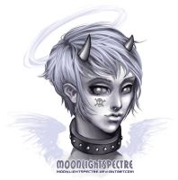 -Marble-White- by MoonLightSpectre
