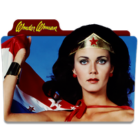 Wonder Woman Folder Icon by mikromike