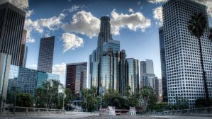 Downtown L.A. by mikytrance