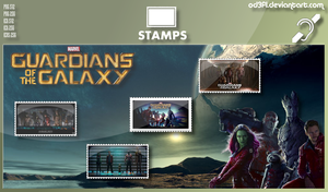 Stamps - 2014 - Guardians Of The Galaxy by od3f1