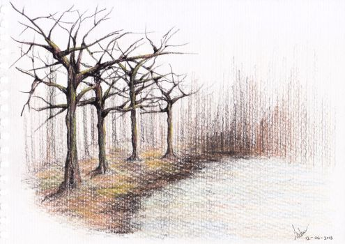 TREES by melvinologic