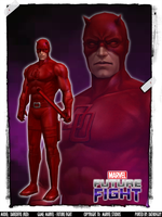 MARVEL Future Fight - Daredevil (Red) by DatKofGuy