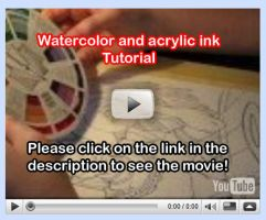 Watercolor Tutorial Video 9 by lady-cybercat