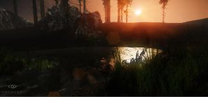 Cryengine - Forest Scene 1 by TRAEMORE