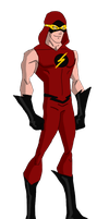 Justice League The Flash (Bart Allen) by jsenior