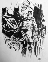 Batman FCBD sketch by deankotz