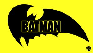 1986 Batman Comic Title Logo by HappyBirthdayRoboto