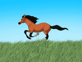 Monty Gallop animation by gothic180