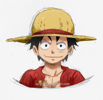 One Piece - My Luffy by SergiART