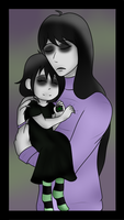 Whispering Death and Gothica by xSpiral-Moonx