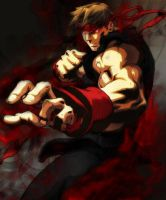 Evil Ryu by Sephirothic7