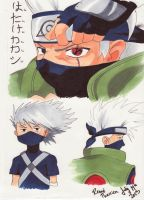 Hatake Kakashi by ReneeTherrien