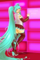 It's MIKU by EddieHolly