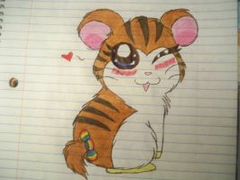 Me as a Hamtaro character lol by Shelby100