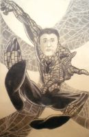 Me as Spider man by masterlee24