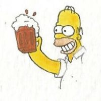 Homer Simpson by brazilianferalcat