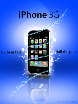 iPhone 3G ad by shilpinator