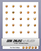 Dark Smileys by Rahul964