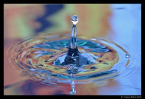 Water drops 2 by Lugenboy