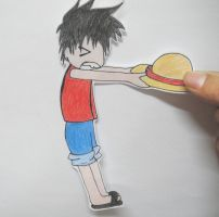 Gimme your hat Luffy by ChInAdOlli