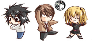 Death Note Png chibi by MikuMendoza