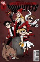 The Harley Quinntets by msciuto