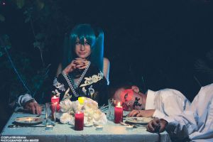 Miku Hatsune - Last Supper by kirawinter