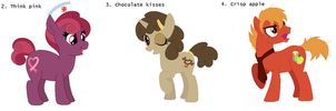 100 Theme Adopts: Themes 1-5 CLOSED by Strawberry-Spritz