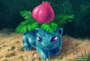Pokemon Ivysaur by DanteCyberMan